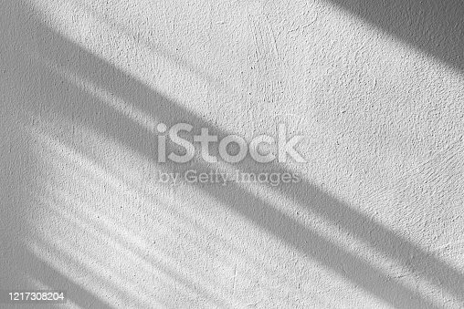 Shadows of lines on wall, abstract pattern as background