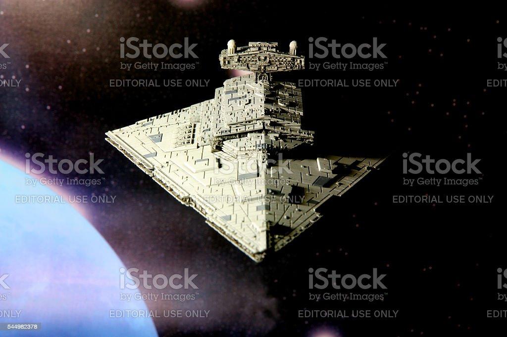 Shadows of the Empire stock photo