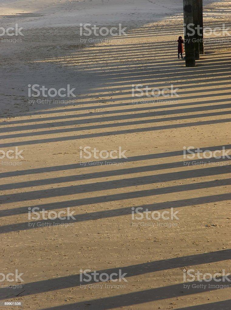 Shadows & Sand (2) royalty-free stock photo