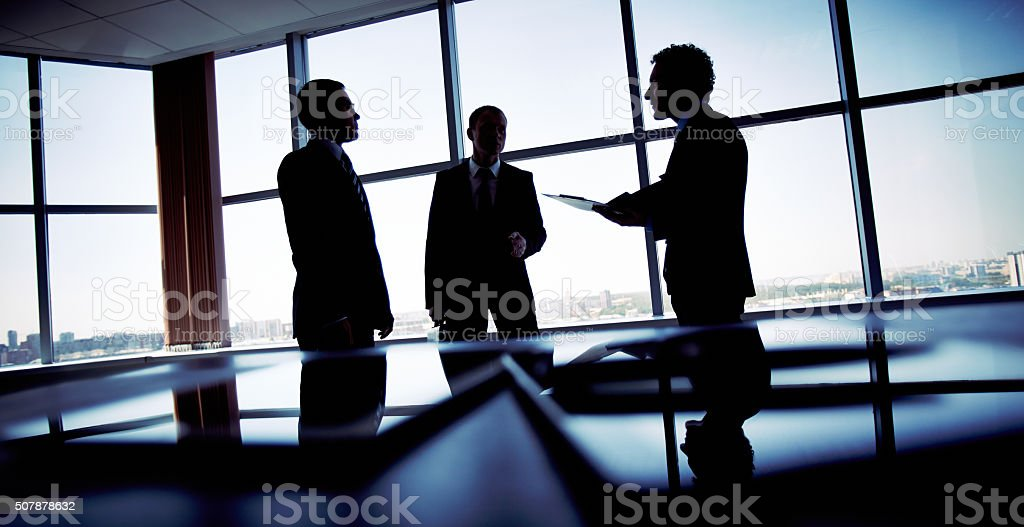 Shady business stock photo