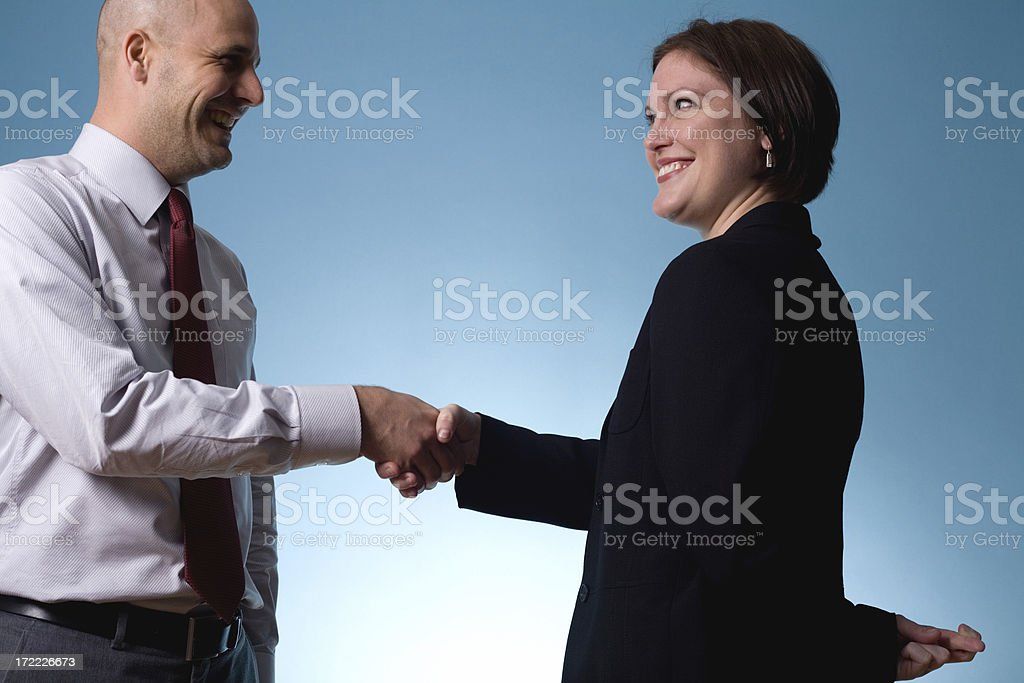 shady deal royalty-free stock photo