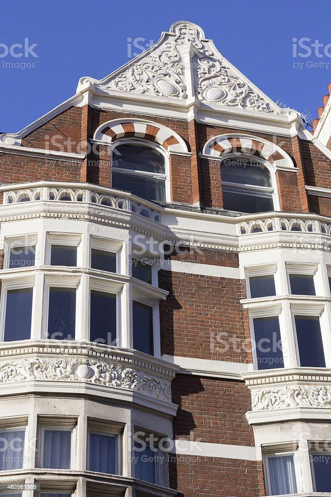 Shaftesbury Avenue in Bloomsbury, London royalty-free stock photo
