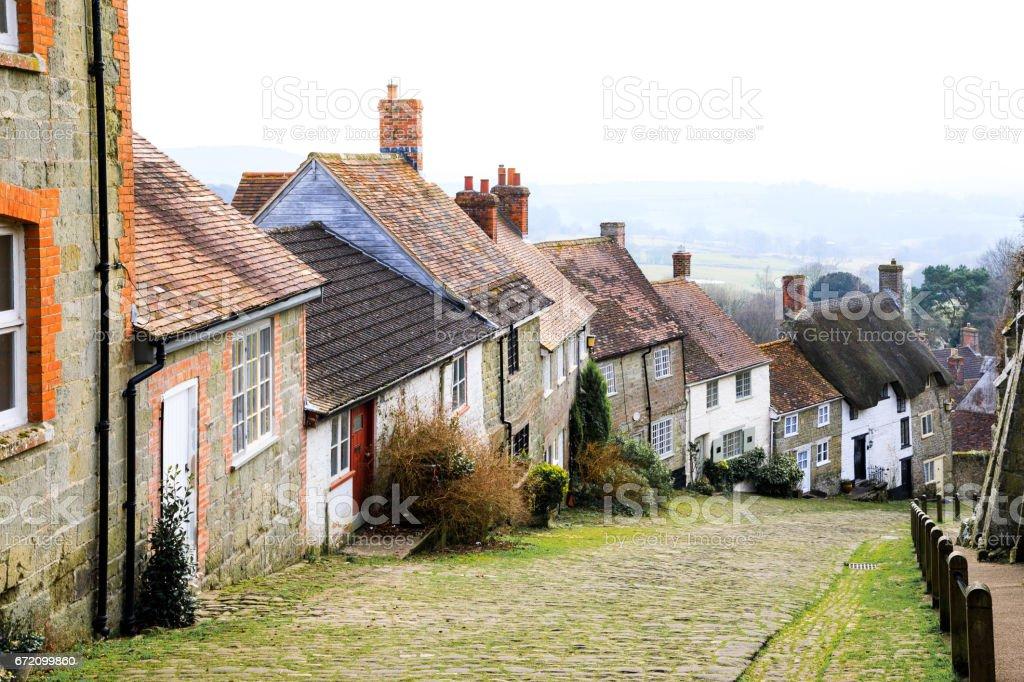 Shaftesbury, Dorset, UK stock photo