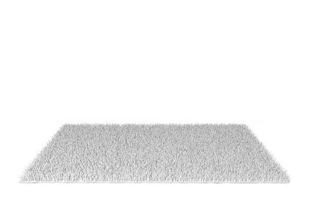 Shaggy carpet stock photo