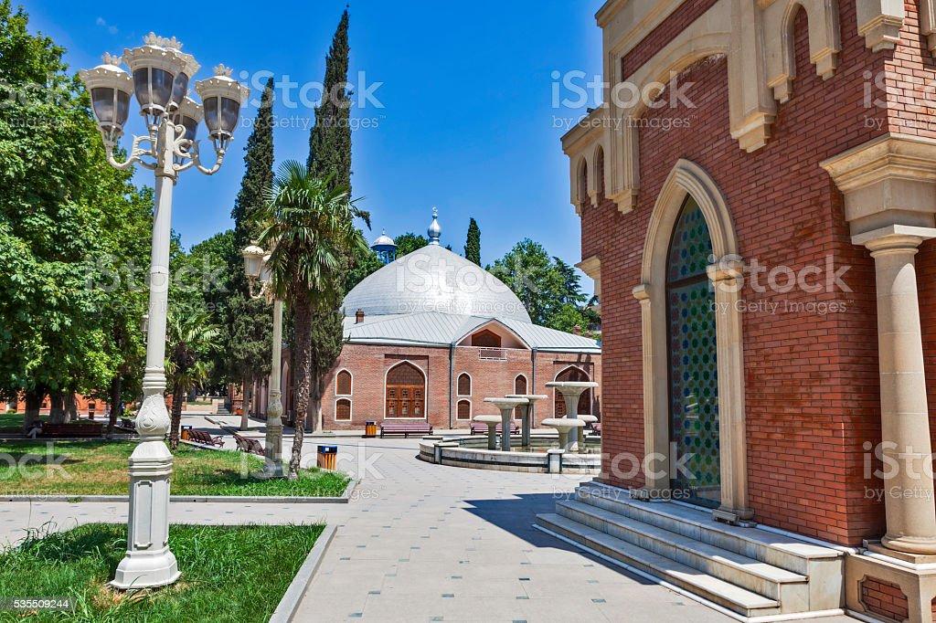 Shah Abbas Mosque in Gyandzha stock photo