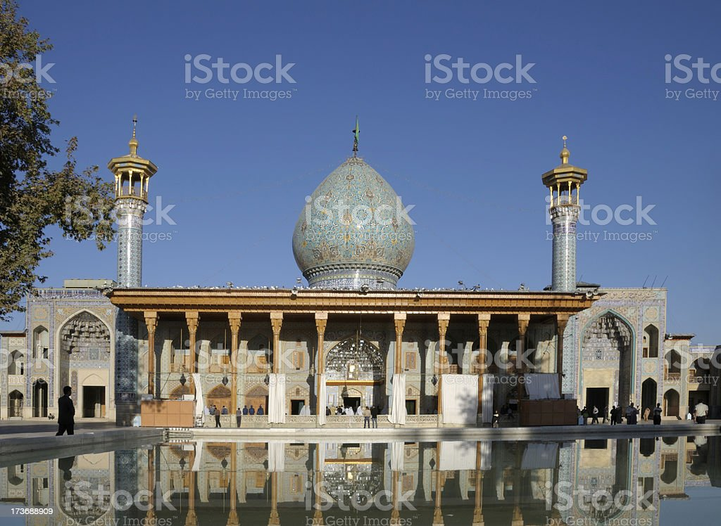 Shah Cheragh, Shiraz, Iran stock photo