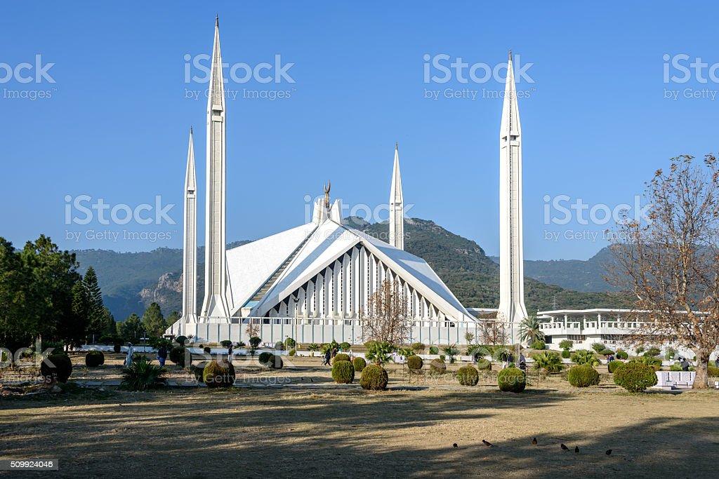 Shah Faisal Mosque Islamabad, Pakistan stock photo