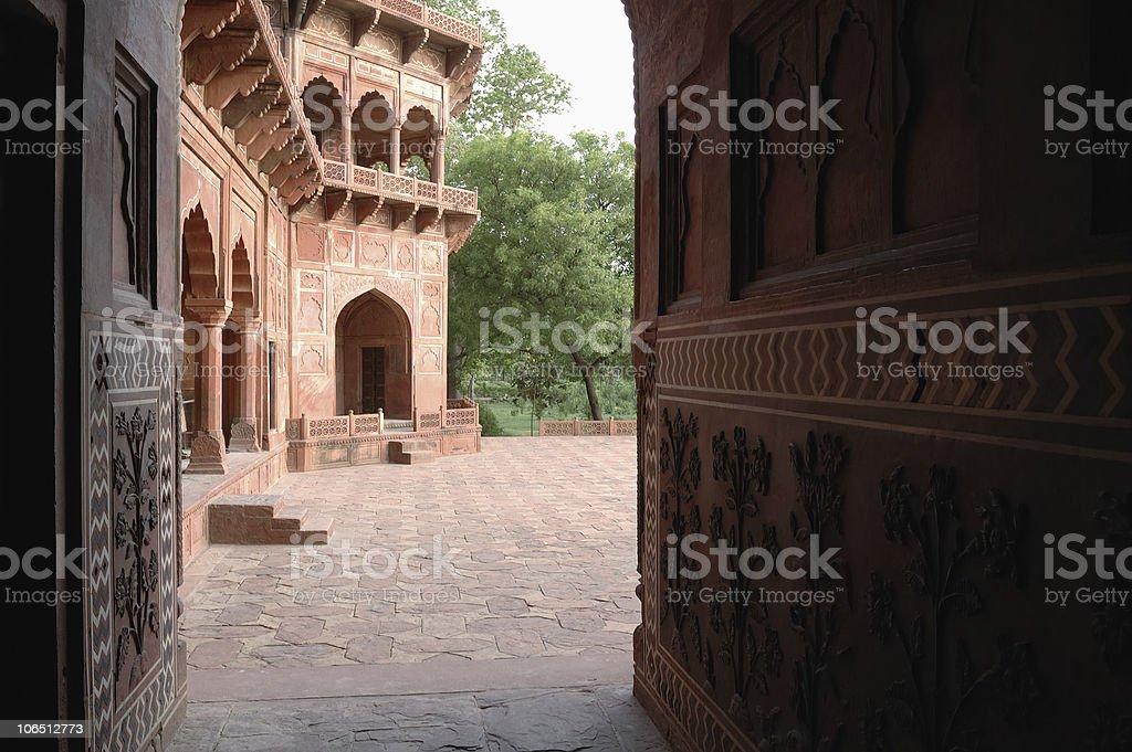 Shah Jahani Mosque royalty-free stock photo