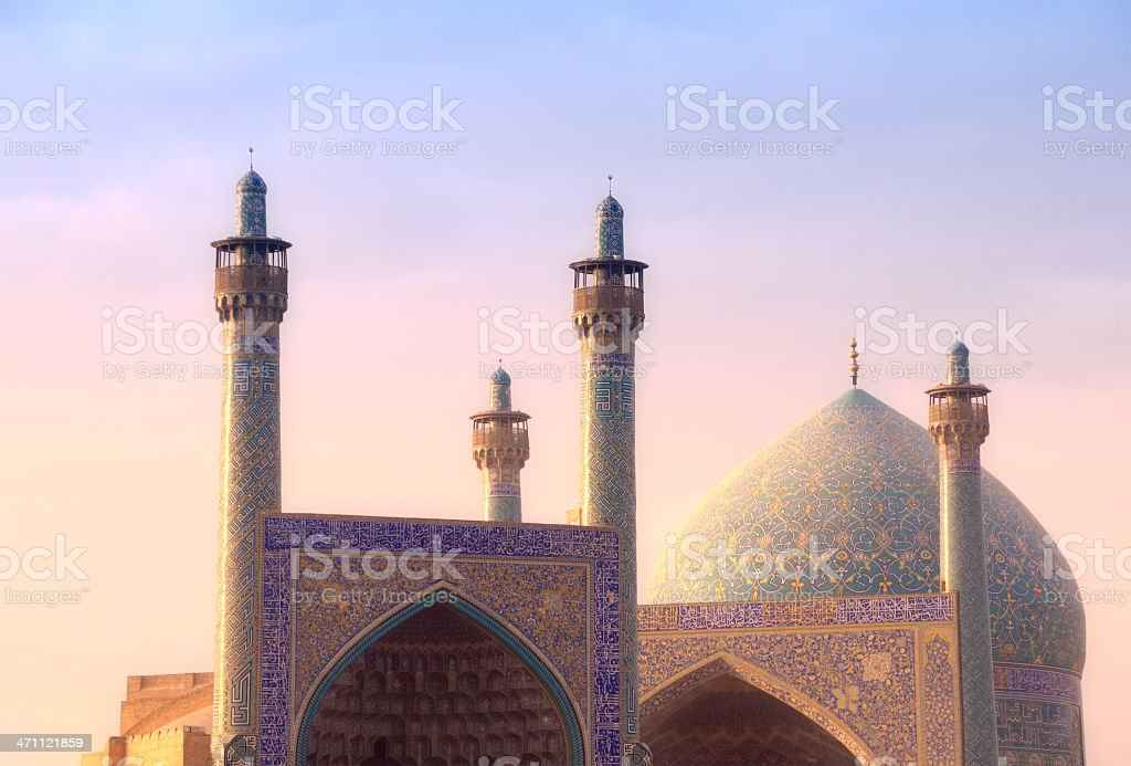 Shah Mosque, Isfahan, Iran stock photo
