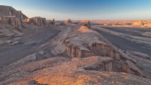 Desierto de Shahdad - foto de stock