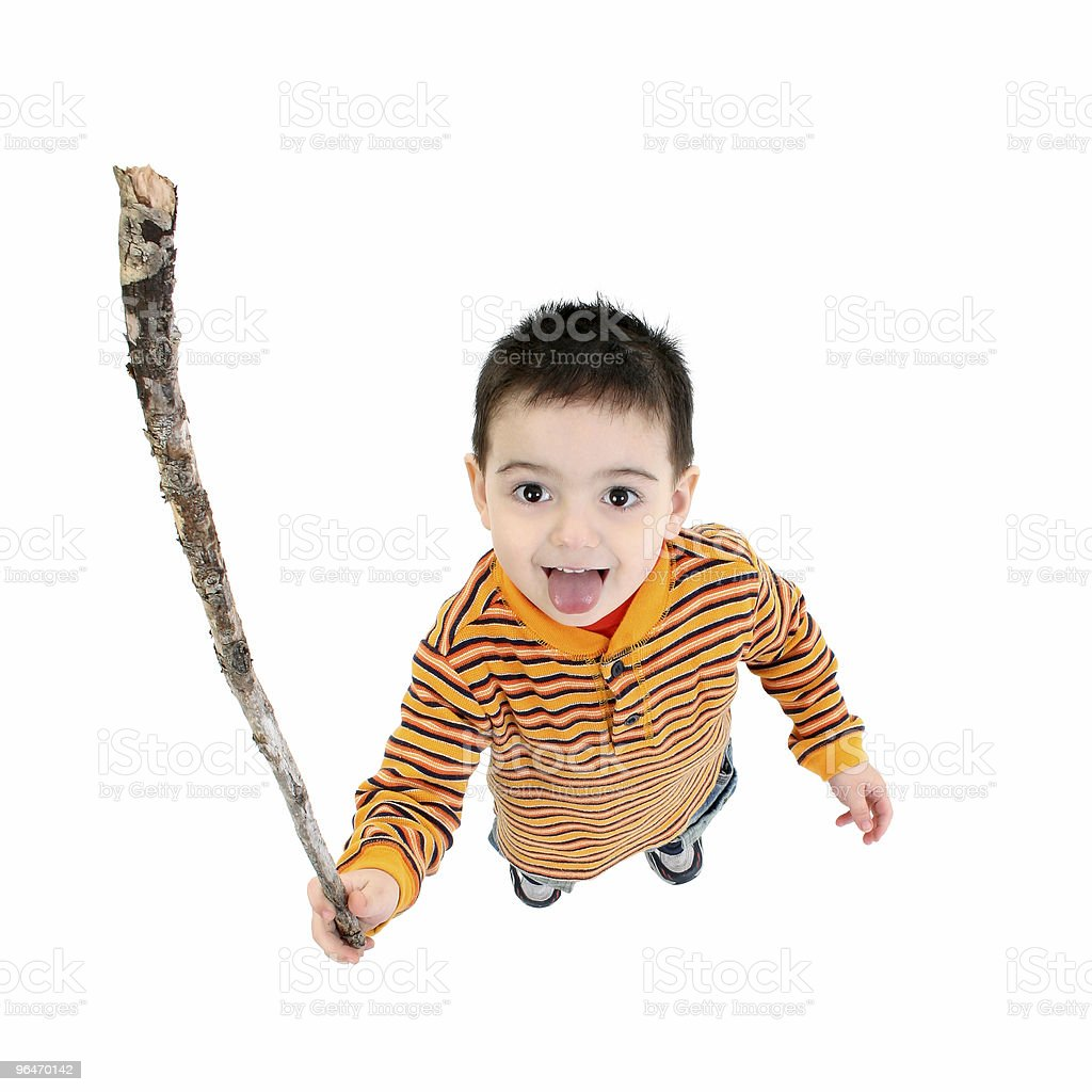 Shake A Stick At royalty-free stock photo