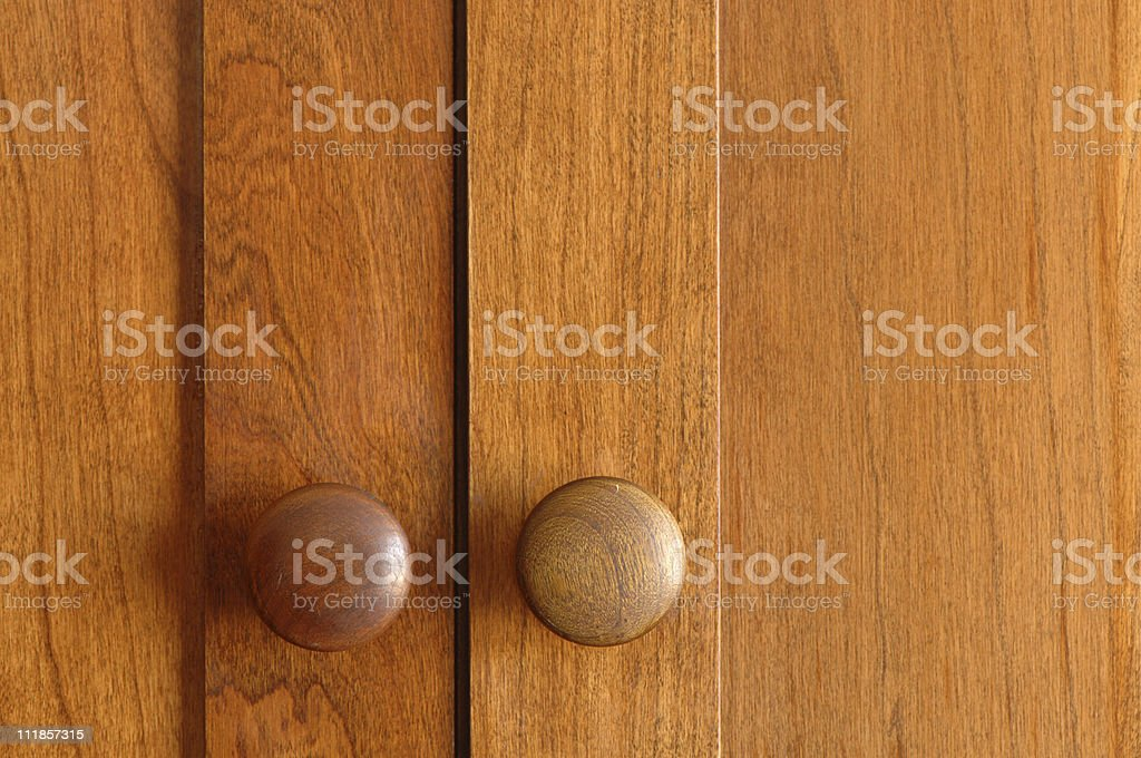 Shaker Cabinet Doors Cherry wood royalty-free stock photo