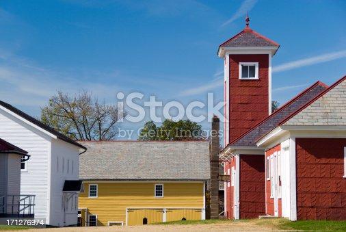 Shaker farm.