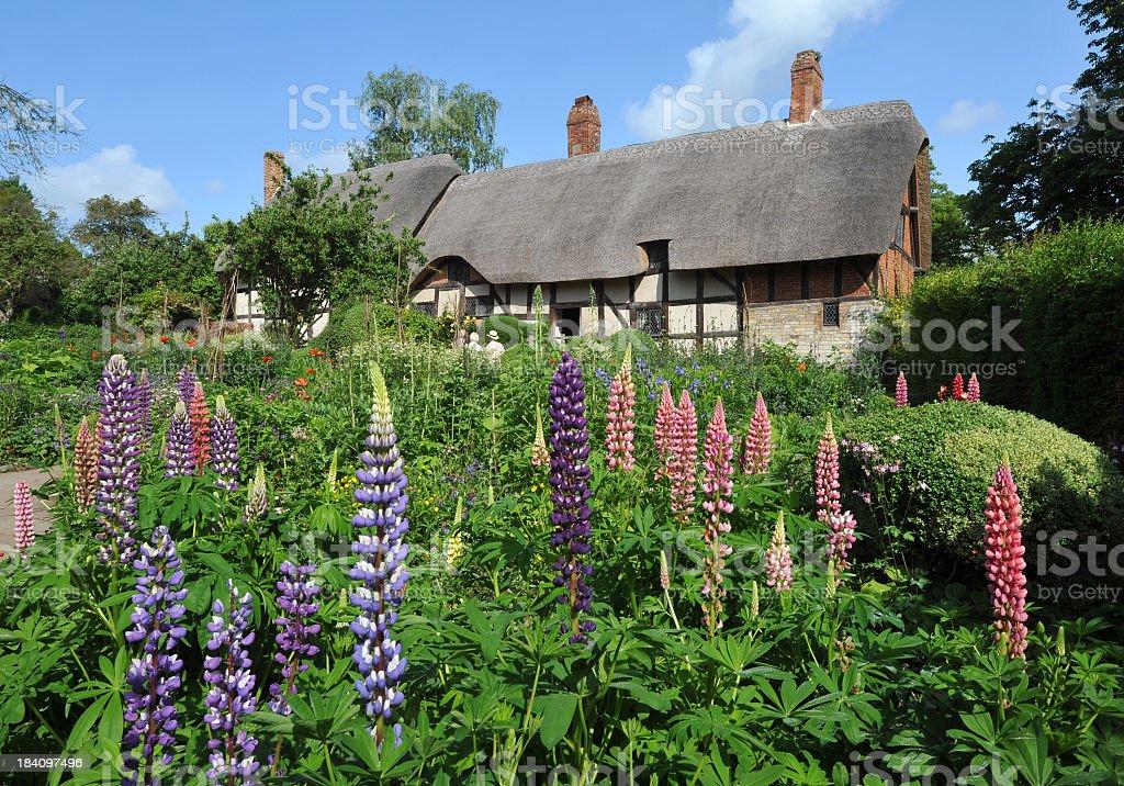Shakespeare Cottage stock photo