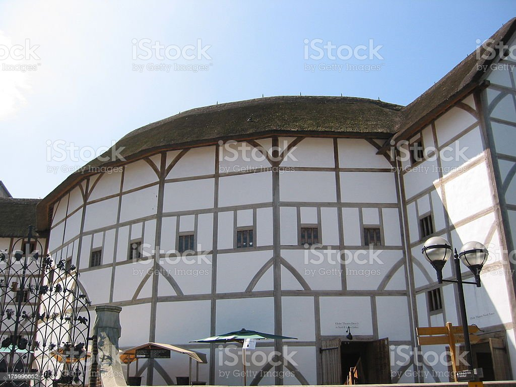 Shakespeare Globe Theater stock photo