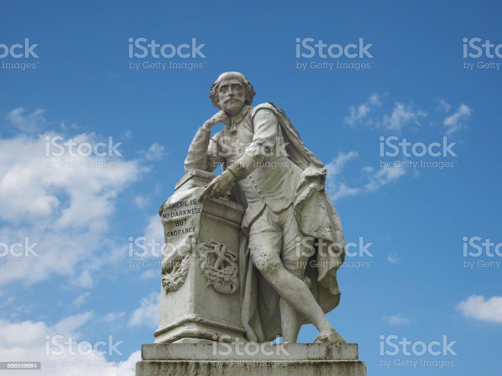 Shakespeare-Denkmal in London – Foto