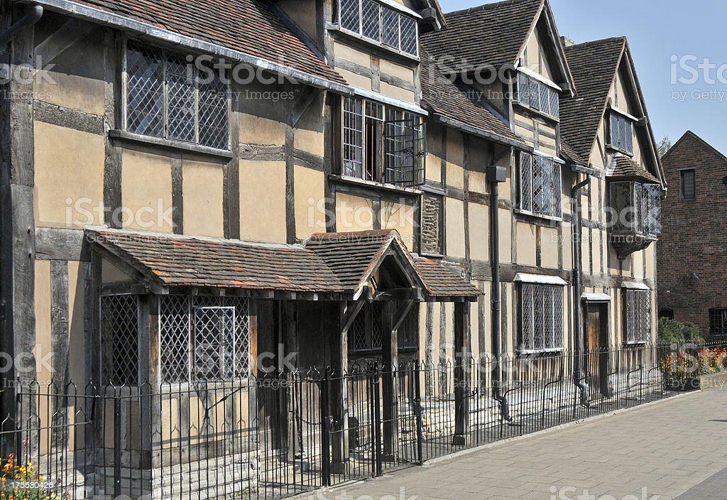 Shakespeare's Birthplace stock photo