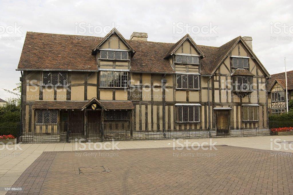 Shakespeare's Birthplace, Stratford-Upon-Avon stock photo