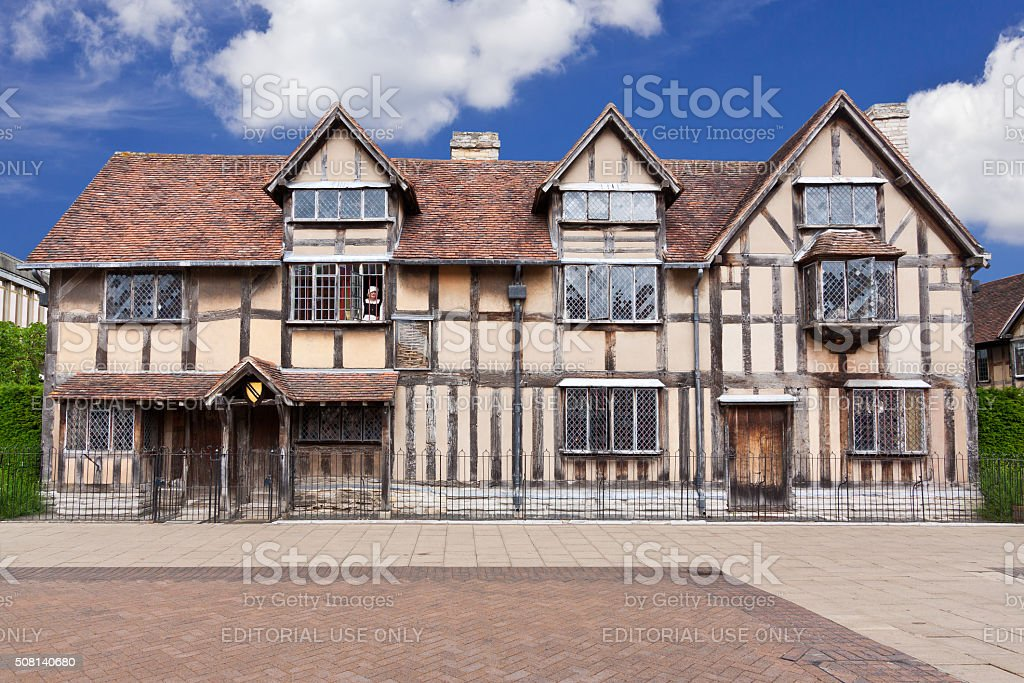 Shakespeare's Birthplace, Stratford-upon-Avon, Warwickshire, England, United Kingdom. stock photo