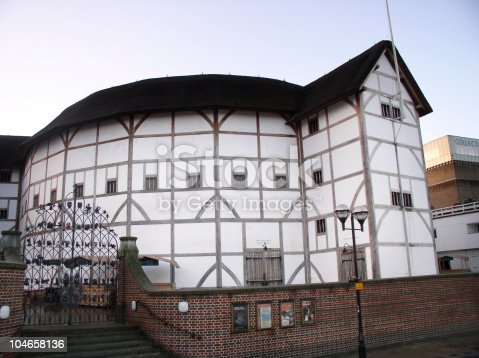 The reconstructed Globe on the south bank of the Thames in London, a wonderful place to visit.