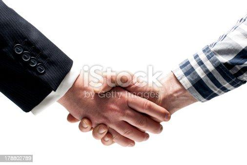 istock Shaking hands 178802789