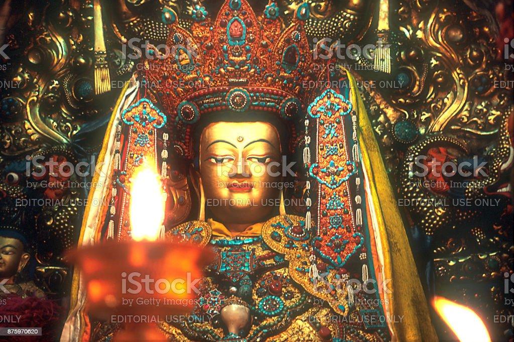 Shakyamuni stock photo