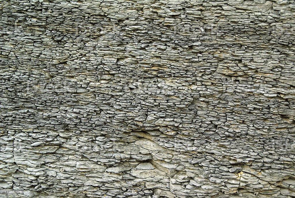 Shale Rock layers stock photo