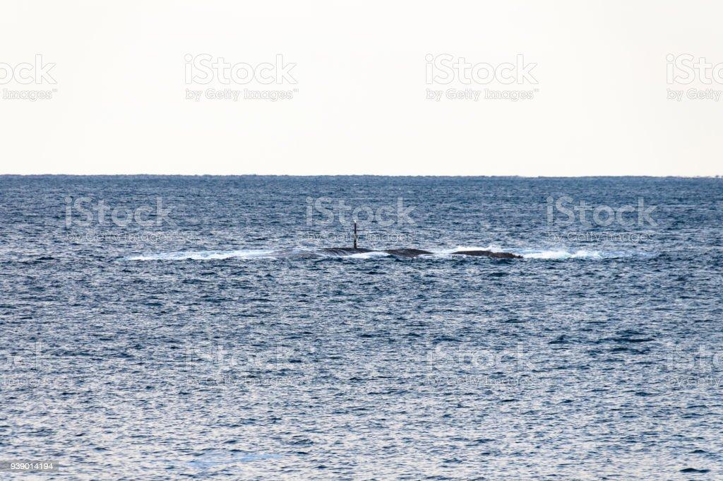 Açık denizde sığ nokta stok fotoğrafı