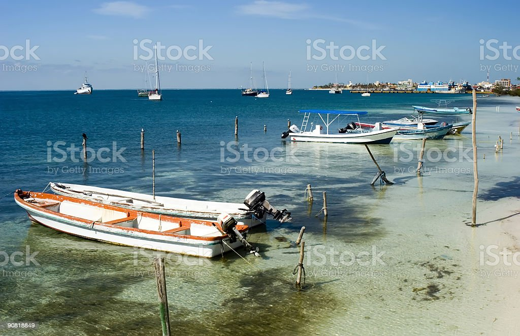 Shallow waters royalty-free stock photo