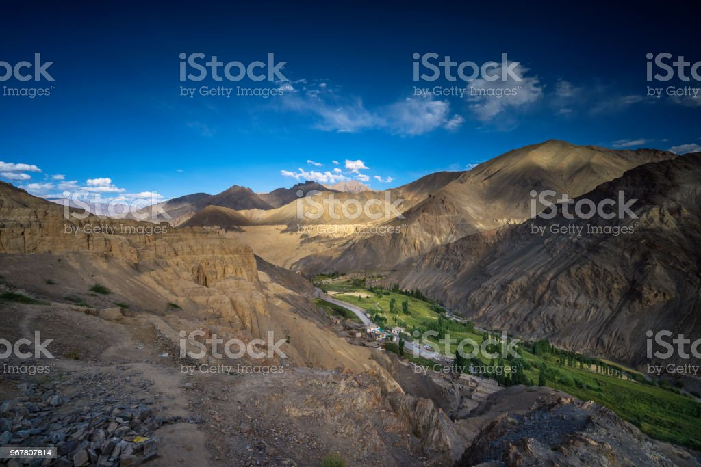 sham valley stock photo