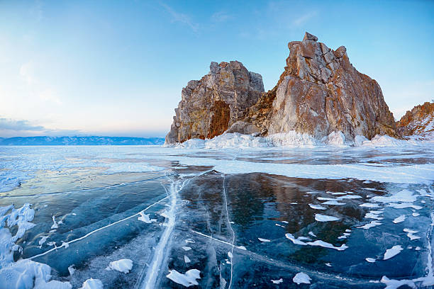 Shamanka mount on Baikal lake – Foto