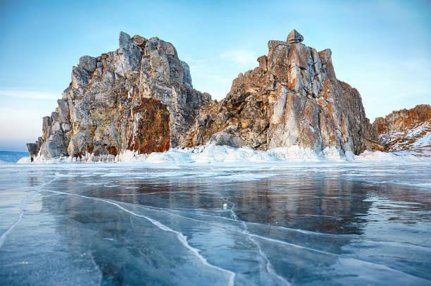 Shamanka mount on Baikal lake – Foto