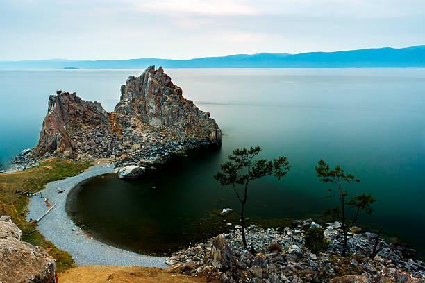 Shamanka-Rock am Baikal-See – Foto