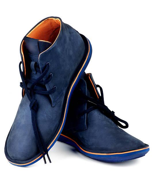 Shammy Boots stock photo