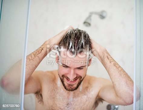 istock Shampoo and condition for a cleaner scalp 625703760