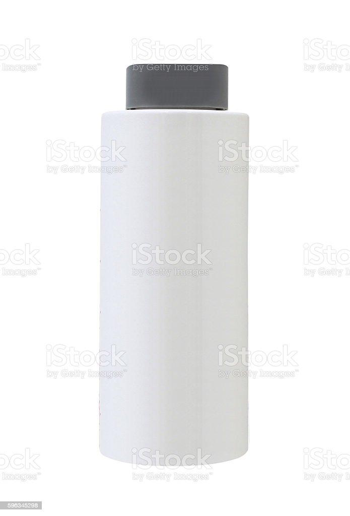 Shampoo bottle isolated royalty-free stock photo