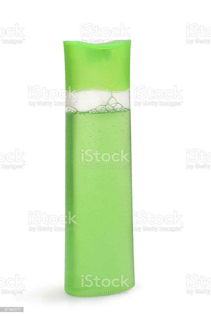 Shampoo bottle royalty-free stock photo