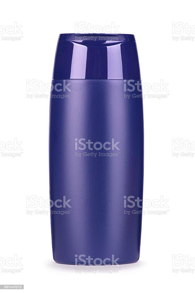 shampoo jar isolated on white background stock photo
