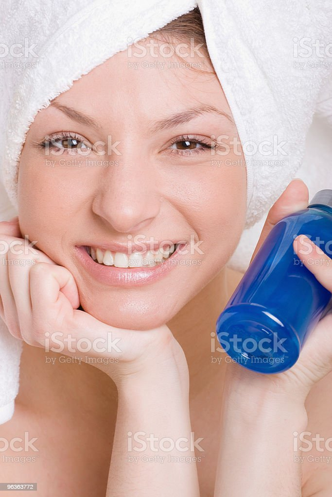 Shampoo royalty-free stock photo