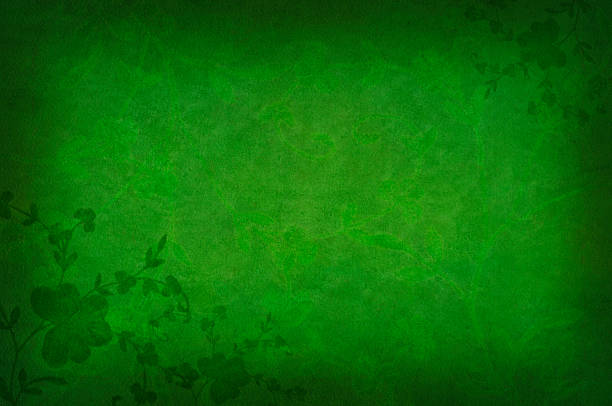 shamrock background - st patricks day background stock photos and pictures