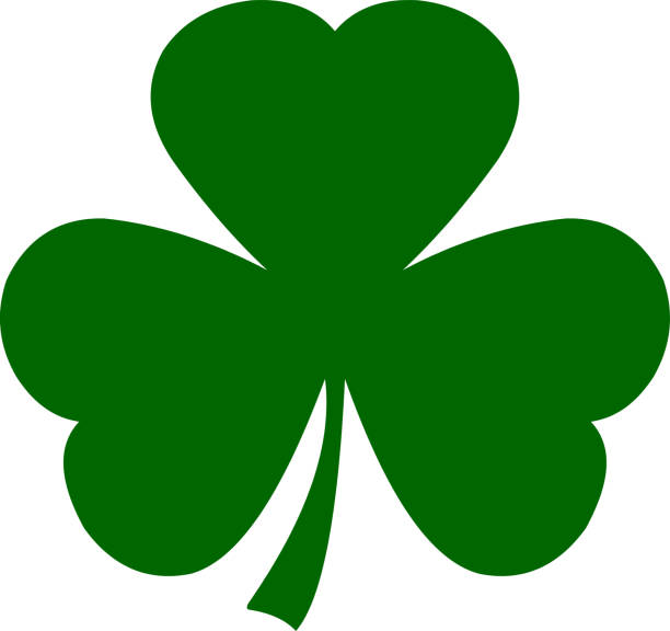 Shamrock Icon Shamrock Icon shamrock stock pictures, royalty-free photos & images