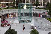 istock shanghai: apple store 458112351