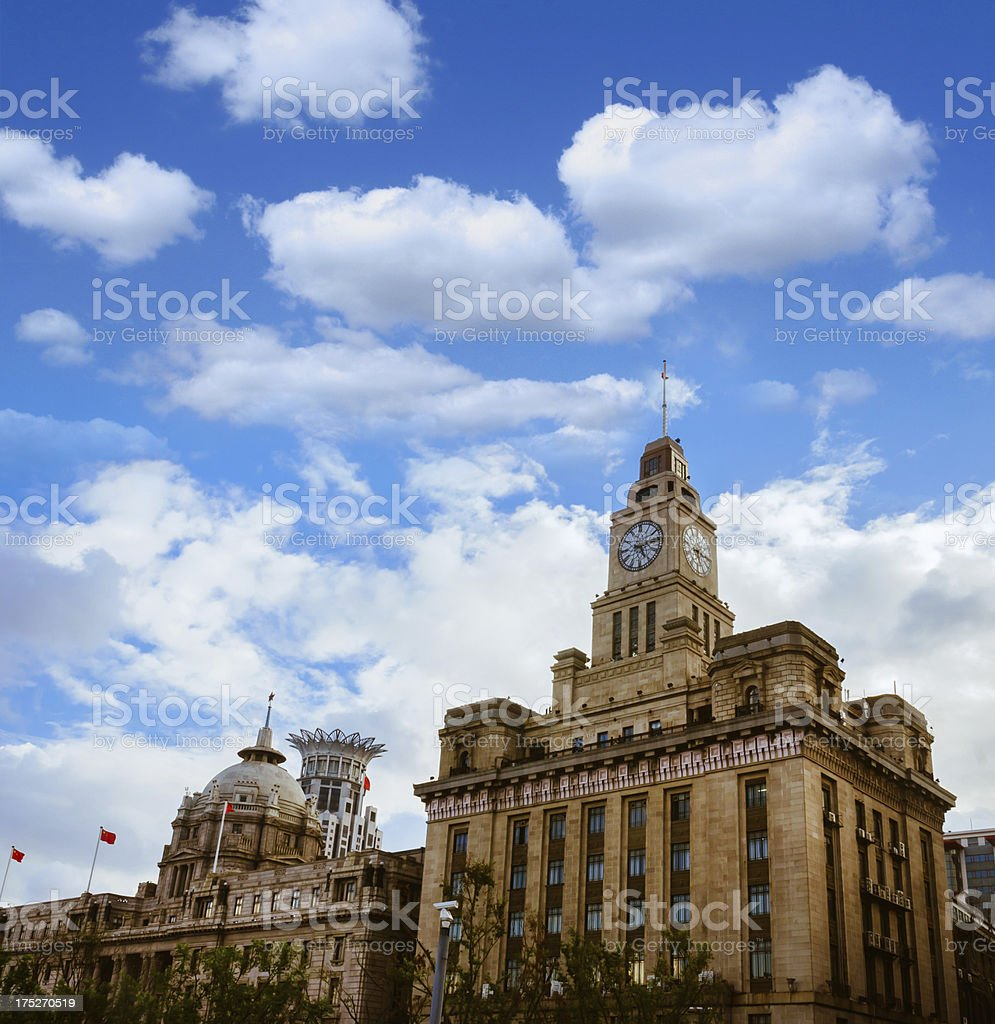 Shanghai Bund Architecture royalty-free stock photo