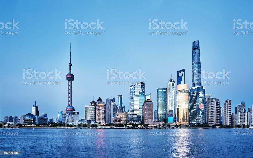 Shanghai Bund,China stock photo