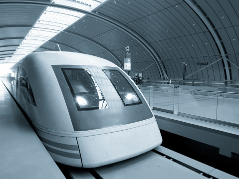 Shanghai China Maglev high speed train