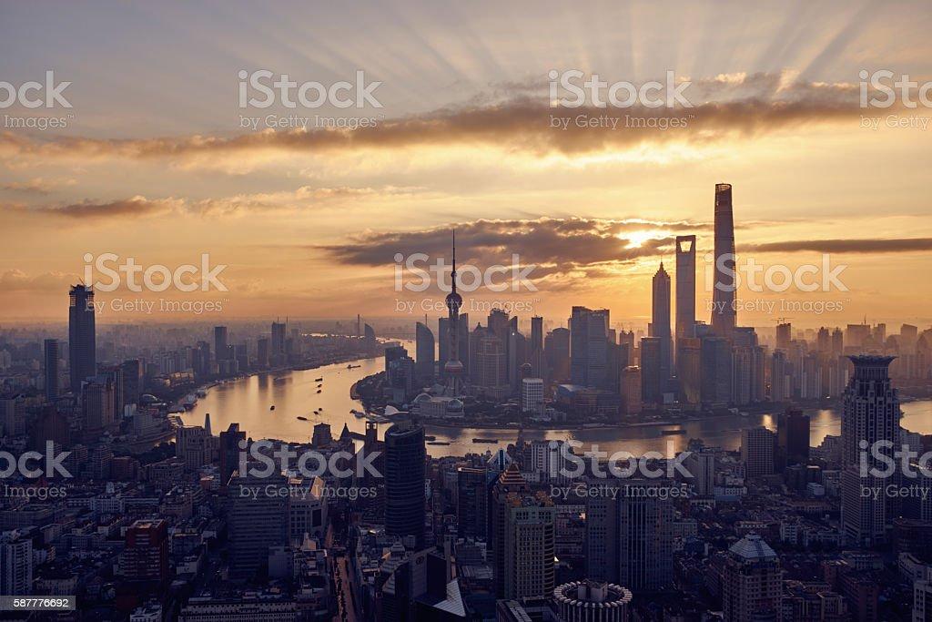 Shanghai China stock photo