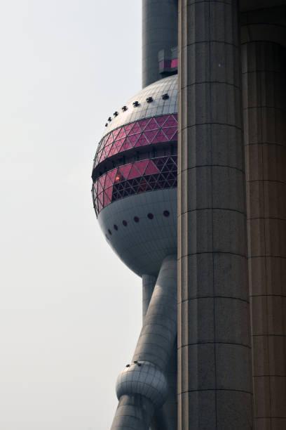 Shanghai China TV Tower Bund stock photo