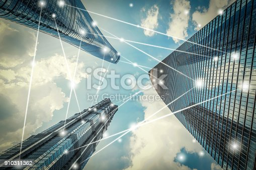 istock Shanghai city network technology 910311362