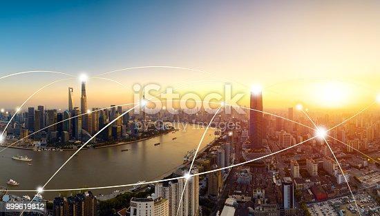 istock Shanghai city network technology,2017 899619812