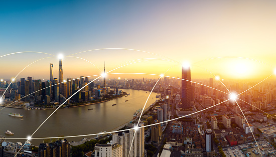 istock Shanghai city network technology,2017 899619812